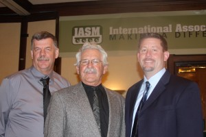 Director William Johnson, Vice-President Jim Herman, President Keith Settle