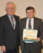 President Herman passes gavel to Don Toothman, Jr.