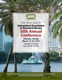 click to view 2017 IASM Annual Conference Ad (one-page PDF)