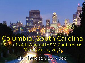 image of 36th Annual IASM Conference in Columbia, SC -- click here to view video